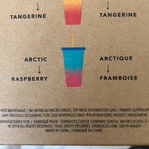 Starbucks Accessories - Color Change Cups